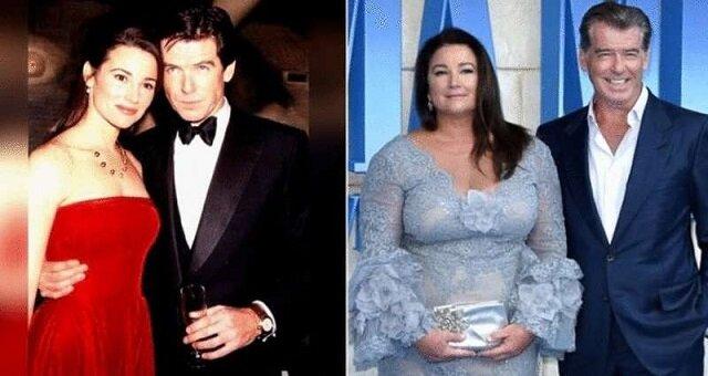 Wierny James Bond: Pierce Brosnan świętował z żoną 25 lat małżeństwa