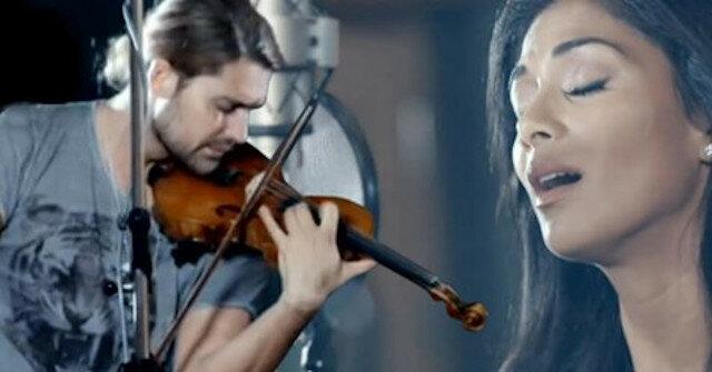 Myślę o tobie, kochanie… Czarujący duet Davida Garretta i Nicole Scherzinger