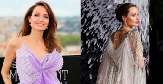 Triumfalne wyjścia oszałamiającej Angeliny Jolie. Elegancka kobieta