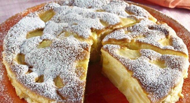 Włoskie domowe ciasto z jabłkiem. Pychota