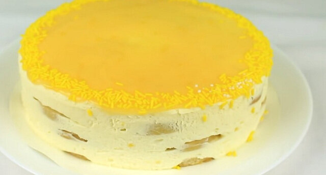 Szybkie ciasto cytrynowe bez pieczenia
