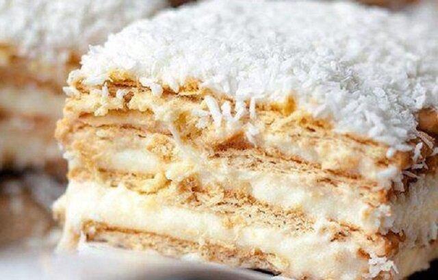 Ciasto Rafaello. Smaczne, szybkie i bez pieczenia