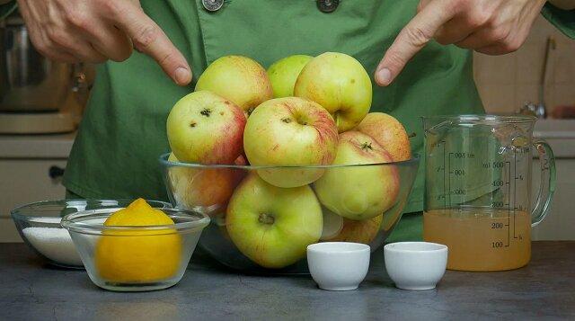 Sos jabłkowy. Przepis krok po kroku