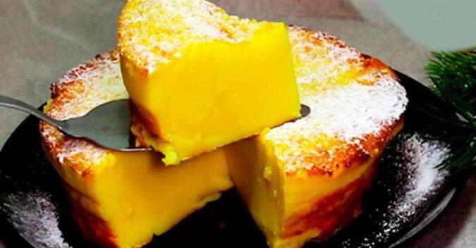 Delikatne mleczne ciasto. Wszystko jest bardzo proste, tanie i smaczne