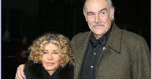 """40 lat razem: Sean Connery wciąż nazywa swoją żonę """"miłością swojego życia"""""""