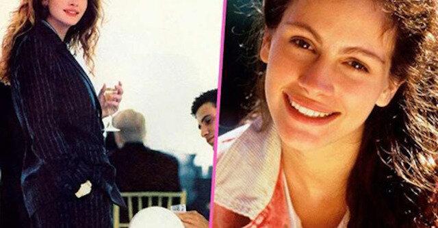 Spójrz na stare zdjęcia Julii Roberts i spróbuj się nie zakochać