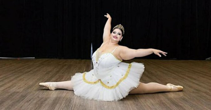 Jak żyje profesjonalna baletnica o dużych rozmiarach z Brazylii