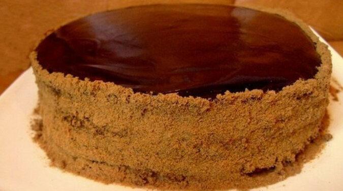 """Czekoladowe ciasto miodowe """"Kobiecy kaprys"""". Bardzo smaczne i delikatne"""