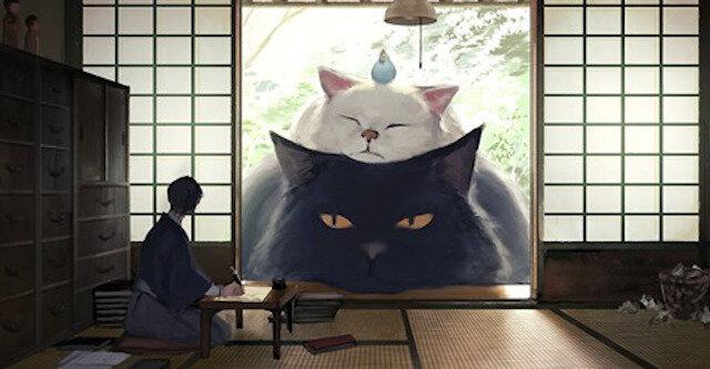 Gdyby zwierzęta były wielkości domów: niesamowite ilustracje japońskiego artysty