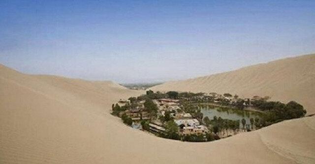 Nie, to nie jest miraż. Niesamowite pustynne miasto oaza w Peru
