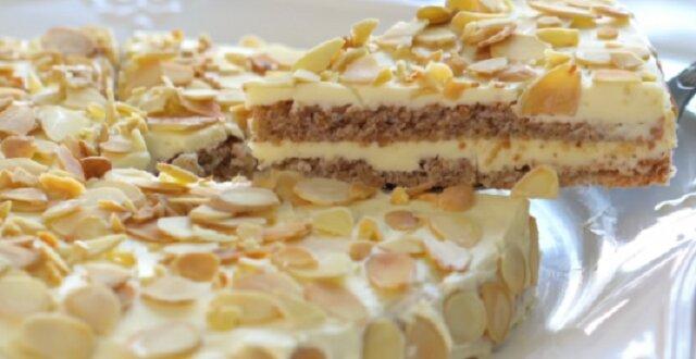 Słynny szwedzki tort migdałowy IKEA. Tylko smaczniejszy