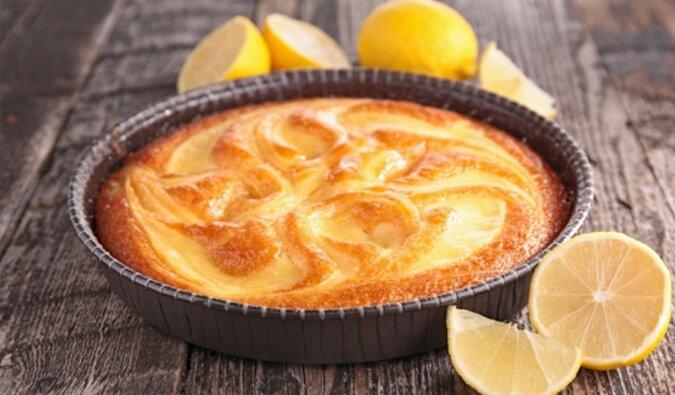 Aromatyczne ciasto cytrynowe. Idealne pasuje do herbaty