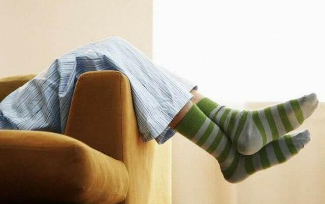 Korzyści płynące ze spania w skarpetkach
