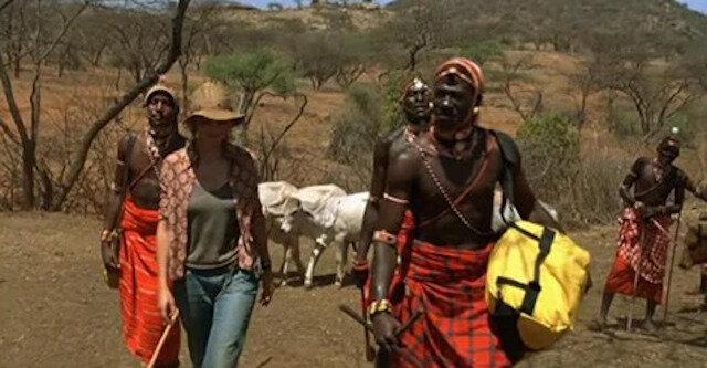 Szwajcarka wyszła za mąż za Afrykańczyka z plemienia Masajów i przeniosła się do Kenii