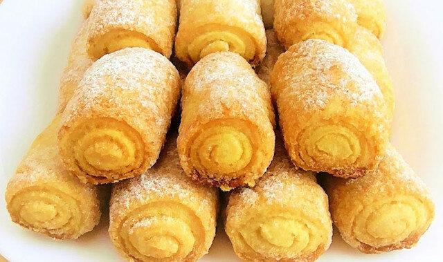 Rurki cukrowe – delikatne, chrupiące i bardzo smaczne