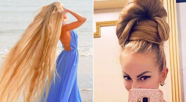 Alena nie ścinała włosów odkąd skończyła 5 lat. Teraz 34-letnia Roszpunka ujawnia swoje sekrety