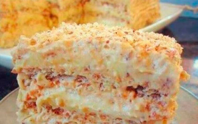 Tort egipski. Pycha