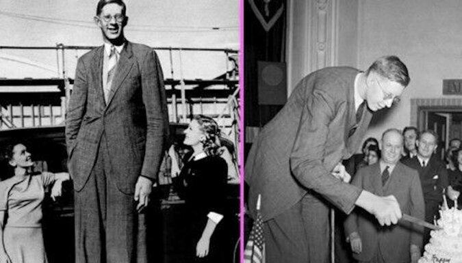 Te wyjątkowe zdjęcia pokażą, jak ogromny był najwyższy człowiek na Ziemi