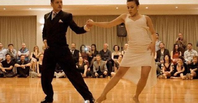 Tańczą tak tylko w Argentynie: namiętnemu tanga tej pary towarzyszyła owacja na stojąco ze strony publiczności