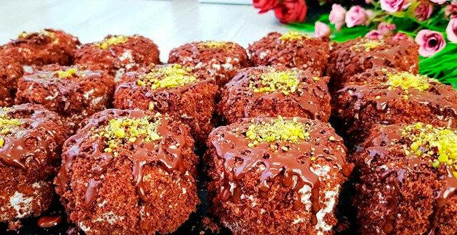 Bardzo czekoladowe ciasteczka: delikatne jak chmura