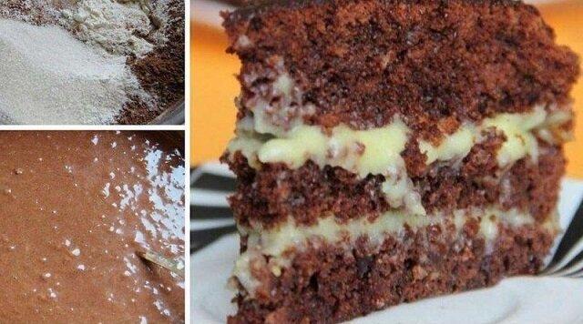 To ciasto ma niesamowity smak, mimo prostego składu