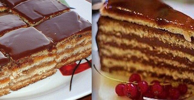 """Delikatne ciasto """"Żerbo"""". Wyjątkowy wypiek"""