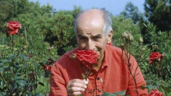 Louis de Funes i jego róże
