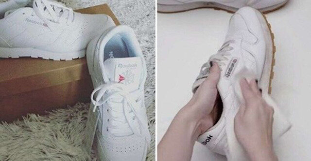 Łatwy sposób na przywrócenie butów do dawnej bieli w zaledwie kilka minut