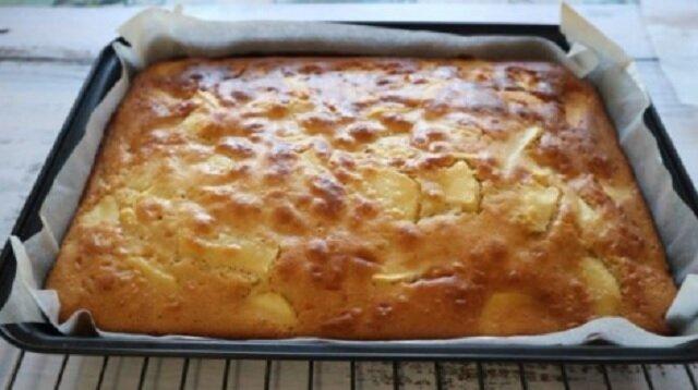 20 minut i ciasto jabłkowe jest gotowe