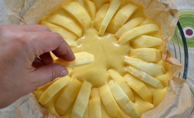 Wiejskie ciasto włoskie z jabłkami. Bardzo smaczne i soczyste
