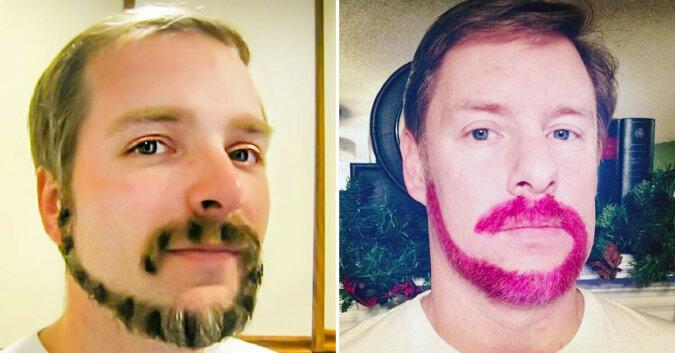 Nowy trend dla mężczyzn: broda w kształcie małpiego ogona