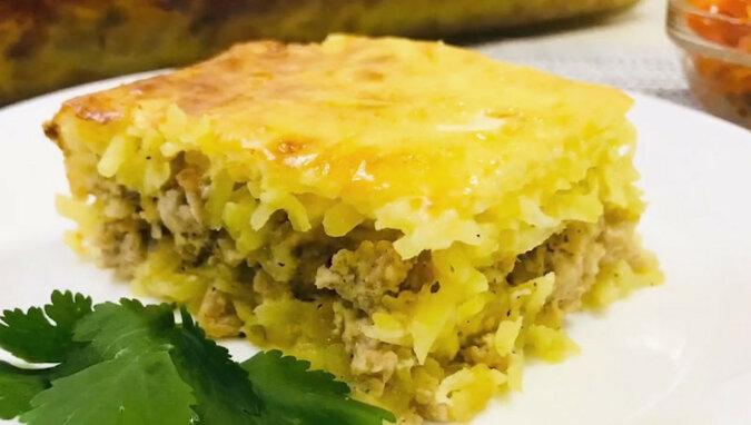 Zapiekanka z ziemniakami i mięsem mielonym: obfite i pyszne danie