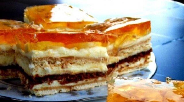 Ciasto karmelowo-bananowe bez pieczenia. Łatwe i pyszne