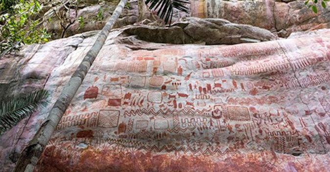 """Archeolodzy odkryli w amazońskiej dżungli liczącą 12 500 lat """"Kaplicę Sykstyńską"""""""