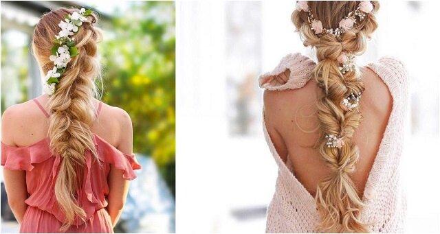 Dziewczyna robi bardzo piękne warkocze - marzenie każdej fashionistki