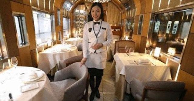 Japonia wprowadza nowy luksusowy pociąg z przedziałami piętrowymi i panoramicznymi oknami
