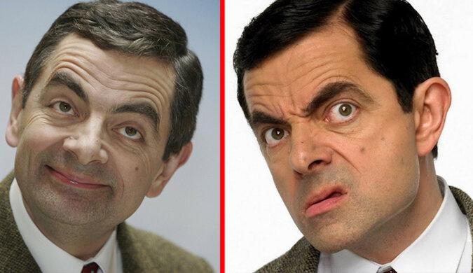 Posiwiał, z brzuszkiem. Starzejący się Mr. Bean został sfotografowany przez paparazzi