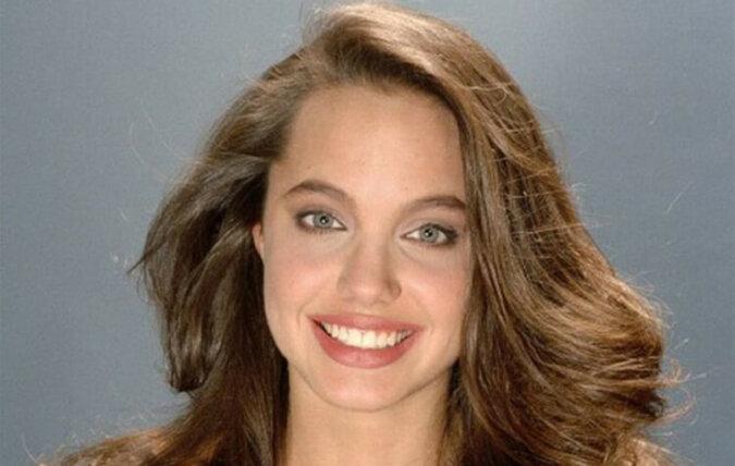 Sesja zdjęciowa młodej i jeszcze niezbyt sławnej Angeliny Jolie