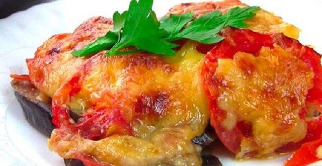 Soczysty kurczak z bakłażanem: wspaniały obiad lub kolacja
