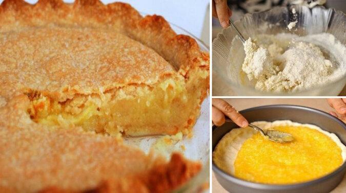 Pyszne i bardzo proste ciasto cytrynowe