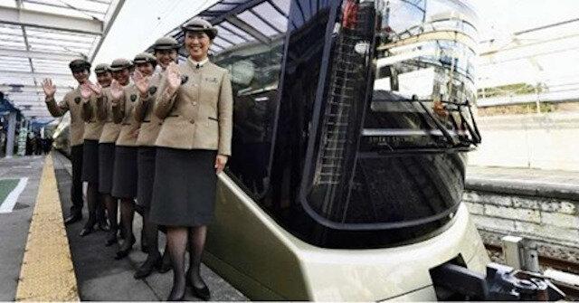 Tak wygląda najdroższy pociąg świata z Japonii w środku