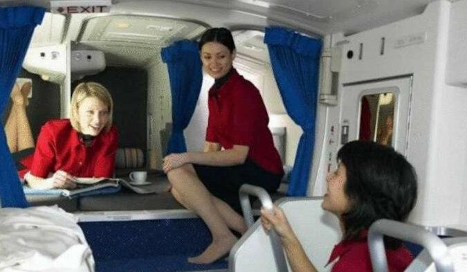 Sekretny pokój w pasażerskim Boeingu