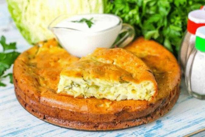 Pyszne ciasto z kapustą według specjalnej receptury
