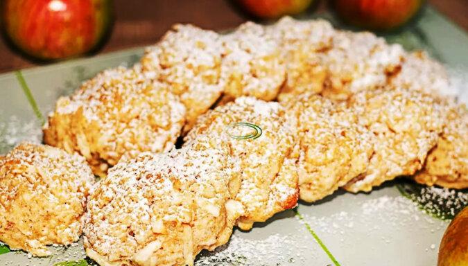 Jabłkowe ciasteczka owsiane. Są miękkie i aromatyczne