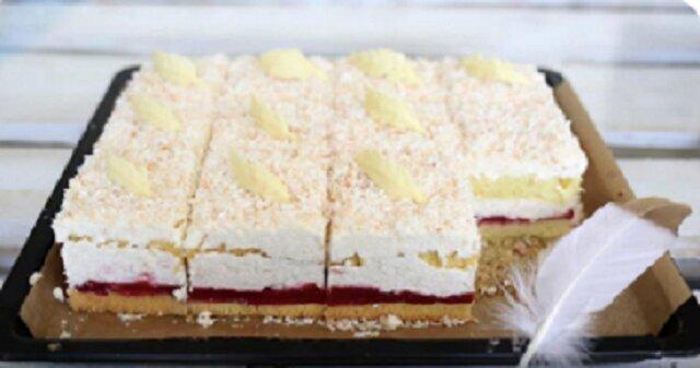 Najprawdopodobniej to najlepsze ciasto na świecie. Łabędzi puch to idealne ciasto na komunię