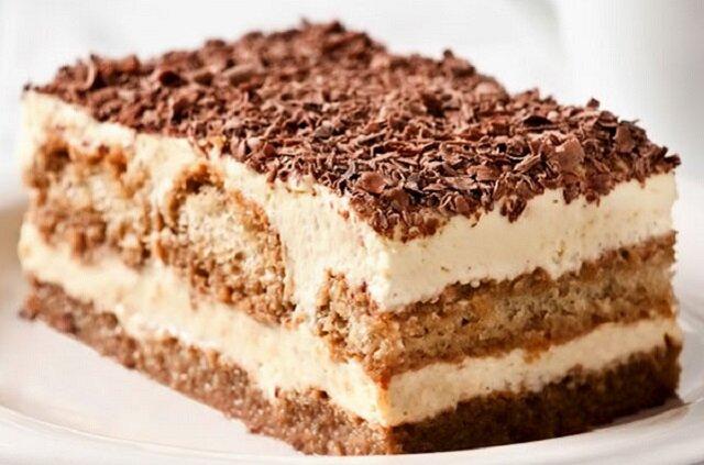 Ciasto kawowe bez pieczenia. Pyszne i nie jest za słodkie