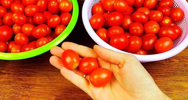 Znalazłam nowy przepis na przechowywanie pomidorów na zimę: bez konserwowania, bez mrożenia, bez gotowania i sterylizacji
