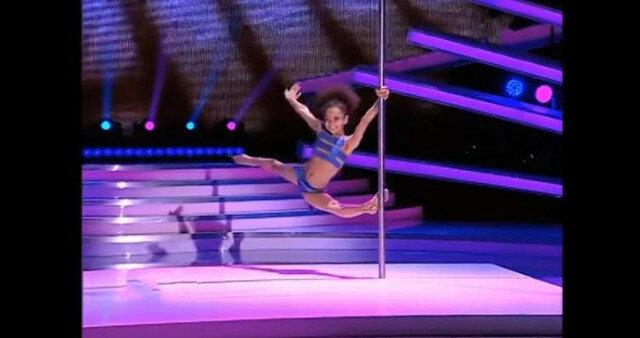 8-letnia gimnastyczka z Ukrainy zdobyła serca sędziów rumuńskiego pokazu talentów