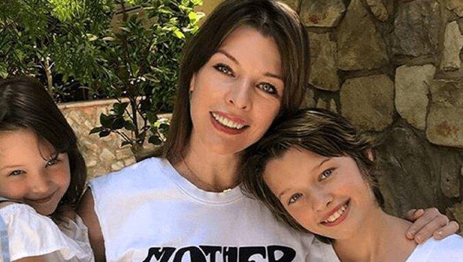 A która to Mila? Córkę Jovovich z mocnym makijażem nie mogli odróżnić od mamy