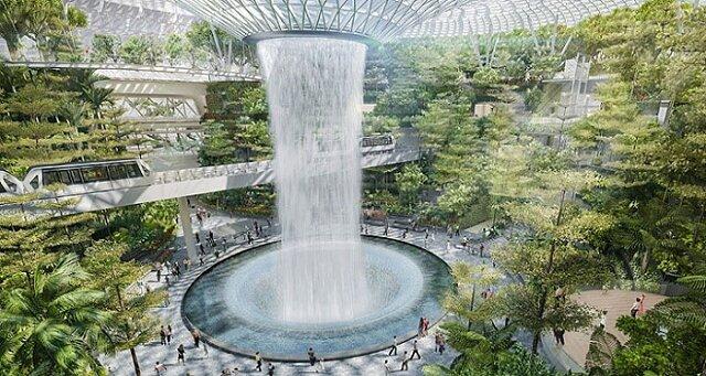 Wyjątkowe lotnisko w Singapurze, jedyne takie na świecie